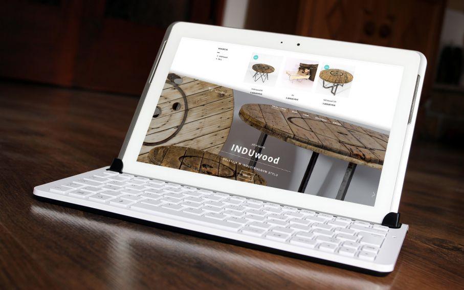 Strona sklepu internetowego WoodYou